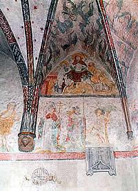 Johanneskirche Innen Fresken